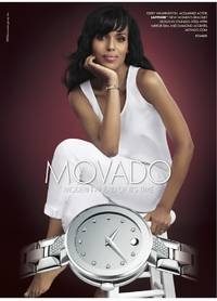 EXCLUSIVE: Kerry Washington Talks Movado, Dressing Olivia Pope, and That Two-Piece Prada Look