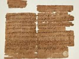 'Extremely rare' early Christian charm discovered: 1,500-year-old 'magical' papyrus is first to refer to Last Supper